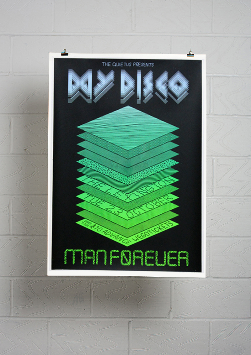 My Disco / Man Forever